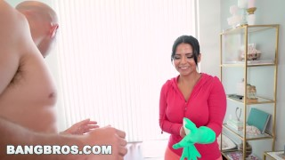 Horny and a with big tits monroe maid is big rose latina bangbros ass cuban big