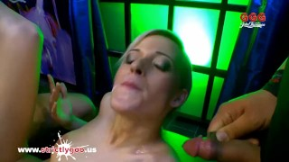 Beautiful Ria Sunn gets her holes filled with cock - German Goo Girls