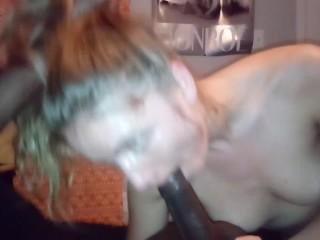 Pornstar Natasha Lyn sucks my BBC and swallows all the cum!