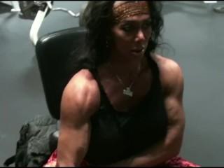 Biceps And Boulder Shoulders Pro Gym Workout