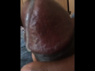 Slow motion masterbation and close up cum