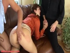 skinny redhead deep anal fucked