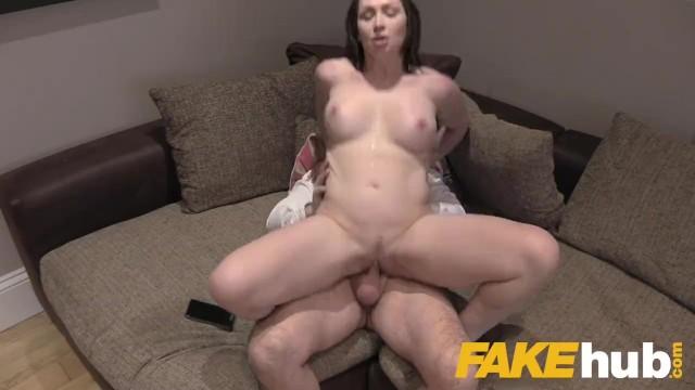handjob cumshot on tits