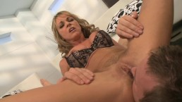 SEXY BIG TIT CHEATING MOMMY SHAYLA LAVEAUX RIDES HARD COCK