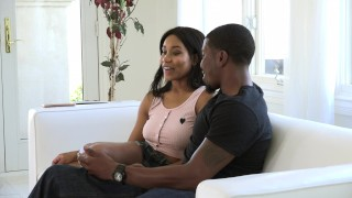 Ebony Babe Jenna Foxxx Fucks Brothers BBC Pounded throbbing