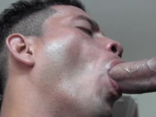 Sucking Monster Cocks Compilation - Part 3