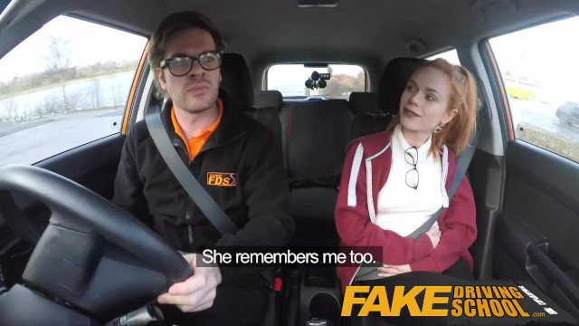 Fake Driving School Big Boobs