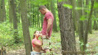 Tree find fuck on to young fuck dane jones outdoor in perfect public lovers cum romantic
