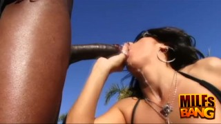 Black raven horny milf cock blowjobs