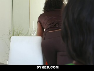 Dyked - Sexy Chanel Heart Seduced & Fucked By Misty Stone