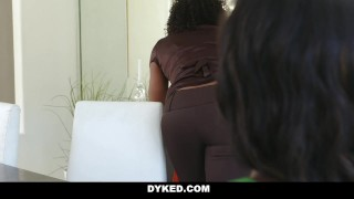 Dyked - Sexy Chanel Heart Seduced & Fucked By Misty Stone porno
