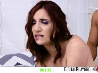 Broke College Girls Episode 5, April Snow gets fucked by stepdad