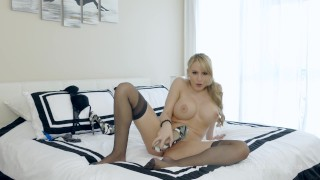 Katie Banks (Ass N Shoes - Jerk off instruction, shoefucking, closeup anal)