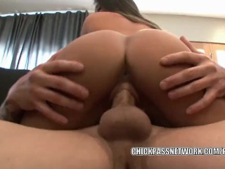 Teen hottie Natalie Monroe gets pounded by an older guy