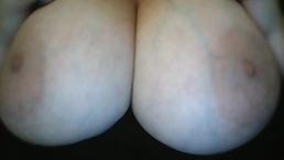 BigTits4BigCock Pkays with Big Huge Natural Tits Solo