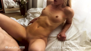 Leolulu amateur lazy couple fuck sunday morning big fingering