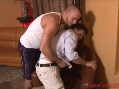 Lance Hart and Jessie Colter Wedgie & Spanking