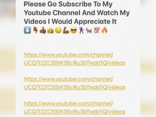 YouTube Channel: swww.youtube.com/channel/UCQ7I2ZCSSW35cRu3bTwdd1Q