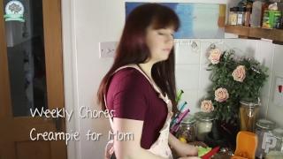 Hot MILF Step Mom Takes Creampie HD