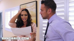 BANGBROS - Latin MILF Ariella Ferrera Does Whatever It Takes To Settle Bill