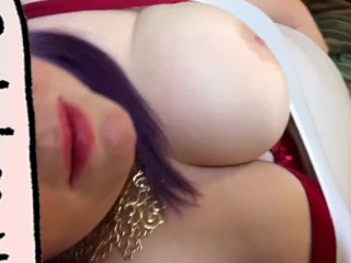 BBW Babe Moans, Climaxes, and Cums with a Controlled Lovense Lush Vibe