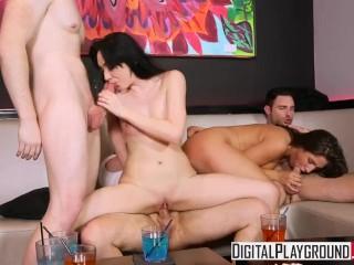 DigitalPlayground - Infidelity, Scene 5, night out turns into club orgy