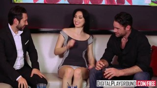 DigitalPlayground - Infidelity, Scene 5, night out turns into club orgy