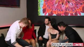 Club digitalplayground turns out scene into night infidelity orgy digitalplayground group