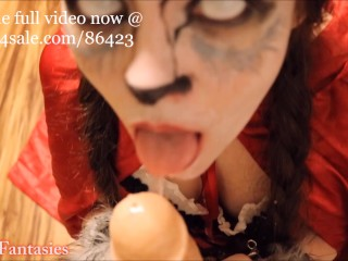 Red Riding Hood Sloppy BlowJob (teaser)