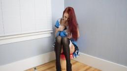 Kitty In Wonderland Solo Sample - Halloween2017- MissKittyMoon.ManyVids.com
