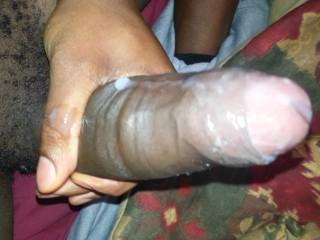 bbc cum load dripping down my leg