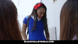 BlackValleyGirls - Bubble Butt Ebony Steals Teens BF Skywalker close