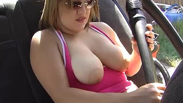 Vacuuming Car and Tits Fun — ALHANA WINTER — Shop Vac Sucking Fetish