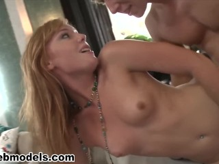 Redhead petite her stepbrother must see a
