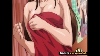 Busty babe loves her Step Brothers Big cock - Hentai.xxx porno
