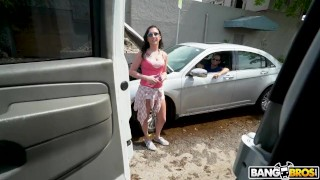 BANGBROS Lending A Helping Hand For Some Pussy On The Bang Bus