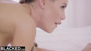 BLACKED Nicole Aniston's UNFORGETTABLE 1ST IR Big blowjob