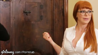 Preview 3 of Lesbian Boss Makes Employees Prove they Like Girls!