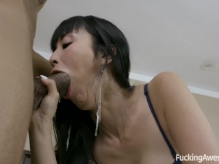 Marica Hase Receives Facial Cumshot From A BBC
