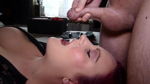 Hot Blonde Blowjob Cum Mouth