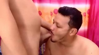 Guy Has A Good Time Sucking Tranny Cock