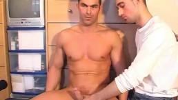 Nicolas hetero:Nice guy's big cock to taste. (in spite of him)