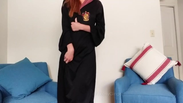 Harry potter broom sex toy Ginnys surprise for harry potter