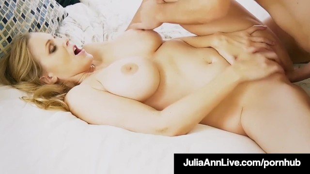 Hot wet nude porn stars Hot step mother julia ann gets nude naughty with step son