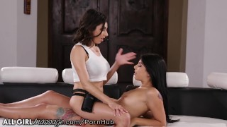lesbian sex massage with oil