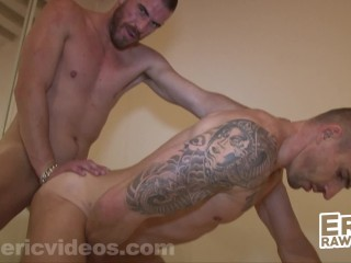 Kriss Gets Pounded & Filled up By Kieran The XXL Austrailian