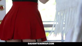 DaughterSwap - Daughters Tricked For a Treat By Their Dads Teen teenmegaworld