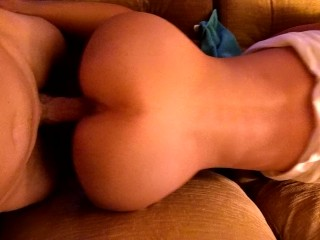 hot ass asian cumming on my cock