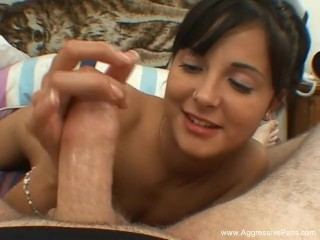 Jack It Latina Handjob