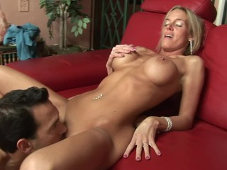 Petite Angry MILF With Huge Tits Gets Put In Her Place By Huge Cock